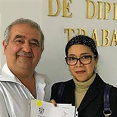 Cristina Estrada Pineda y Gonzalo Cañestro
