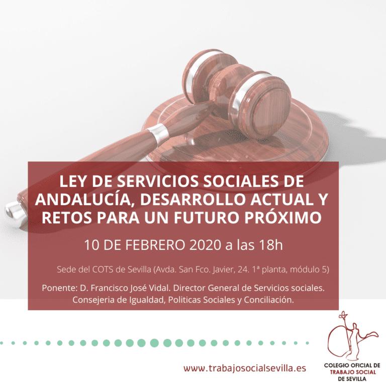 Conferencia gratuita: Ley de Servicios Sociales de Andalucía